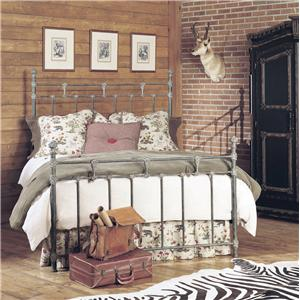 Old Biscayne Designs Custom Design Iron and Metal Beds Aracelli Metal Bed