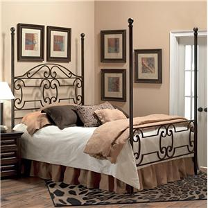 Old Biscayne Designs Custom Design Iron and Metal Beds Beaumont Poster Bed