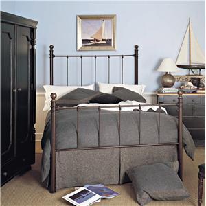 Old Biscayne Designs Custom Design Iron and Metal Beds Bernadette Metal Bed