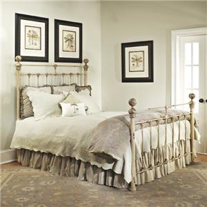 Old Biscayne Designs Custom Design Iron and Metal Beds Cecilia Metal Bed