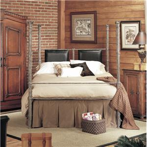 Old Biscayne Designs Custom Design Iron and Metal Beds Collette Poster Bed
