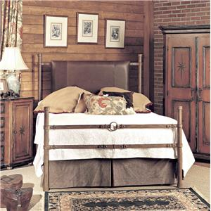 Old Biscayne Designs Custom Design Iron and Metal Beds Comanche Metal Bed