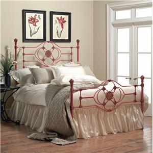 Old Biscayne Designs Custom Design Iron and Metal Beds Connor Metal Bed