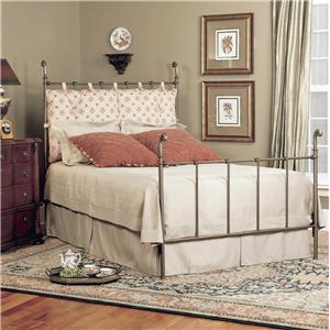 Old Biscayne Designs Custom Design Iron and Metal Beds Daphne Metal Bed