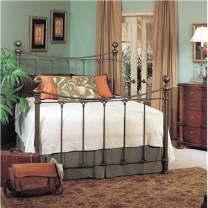 Old Biscayne Designs Custom Design Iron and Metal Beds Juniper Metal Bed