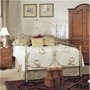 Old Biscayne Designs Custom Design Iron and Metal Beds Kayleigh Metal Bed