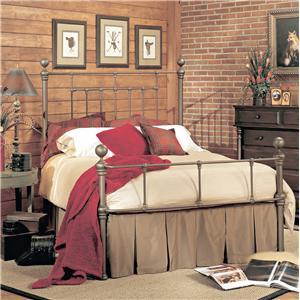 Old Biscayne Designs Custom Design Iron and Metal Beds Lanier Metal Bed