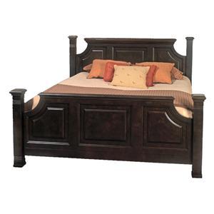 Old Biscayne Designs Custom Design Solid Wood Beds Lisette King Bed