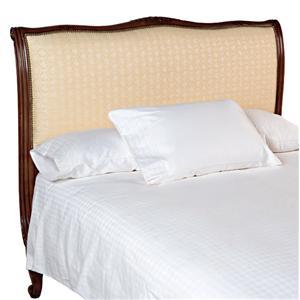 Old Biscayne Designs Custom Design Solid Wood Beds Louis XV Upholstered Headboard