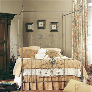 Old Biscayne Designs Custom Design Iron and Metal Beds Maria Canopy Bed