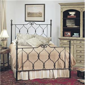 Old Biscayne Designs Custom Design Iron and Metal Beds Miranda Metal Bed