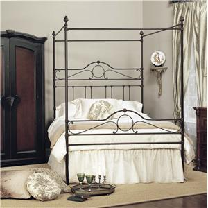 Old Biscayne Designs Custom Design Iron and Metal Beds Natasha Canopy Bed