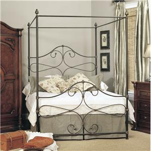 Old Biscayne Designs Custom Design Iron and Metal Beds Olivia Canopy Bed