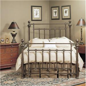 Old Biscayne Designs Custom Design Iron and Metal Beds Rylander Metal Bed