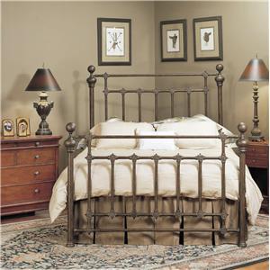 Old Biscayne Designs Custom Design Iron and Metal Beds Rylander Metal Bed