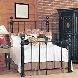 Old Biscayne Designs Custom Design Iron and Metal Beds Saxon Metal Bed