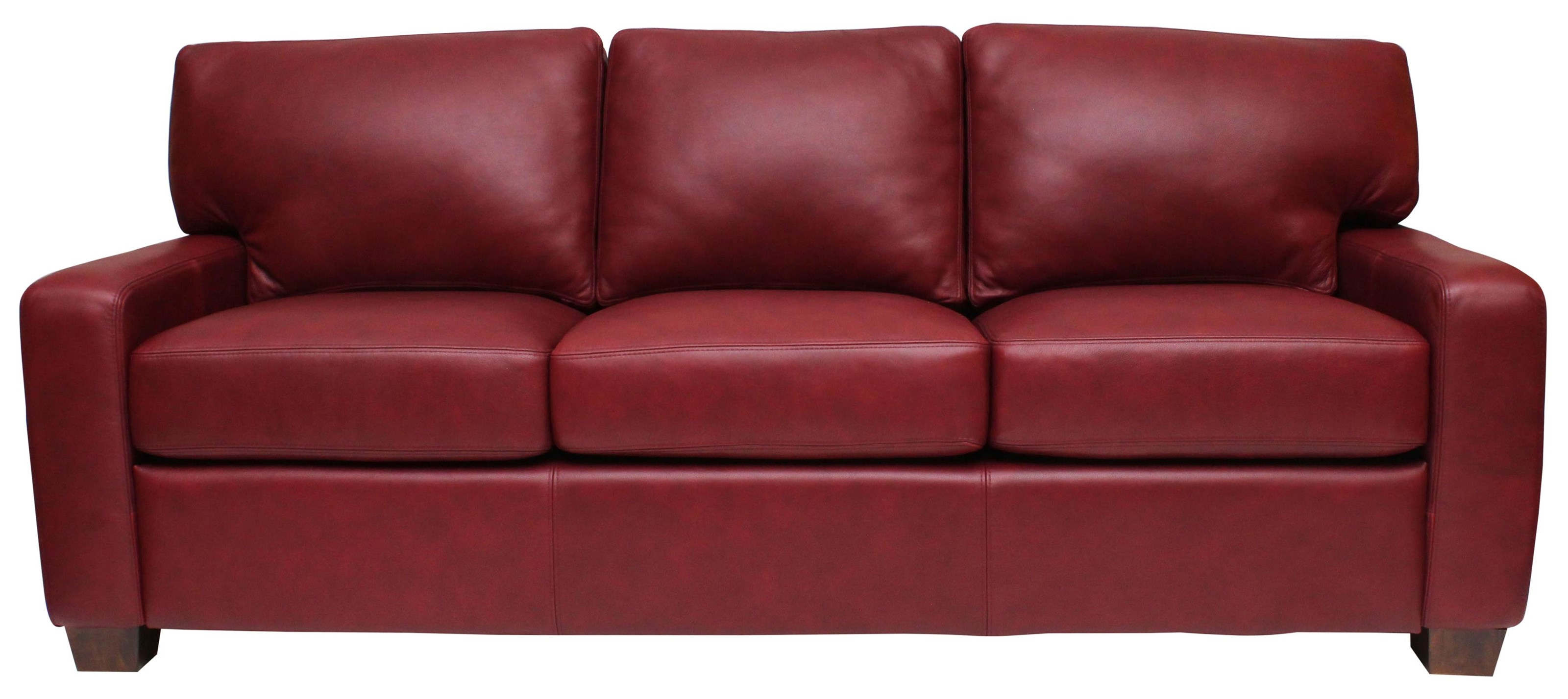 Albany Sofa by Omnia Leather at HomeWorld Furniture