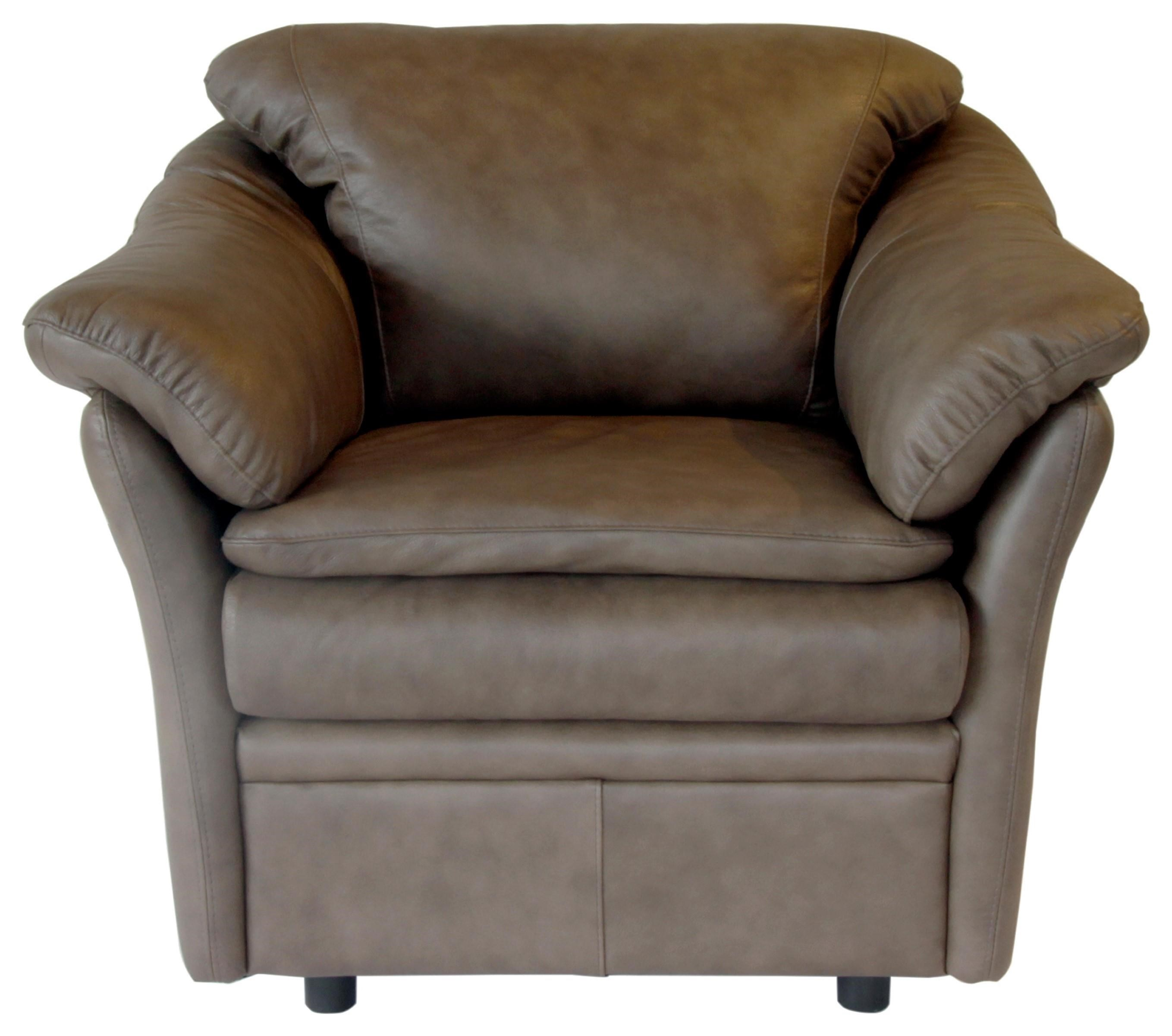 Uptown Chair by Omnia Leather at HomeWorld Furniture