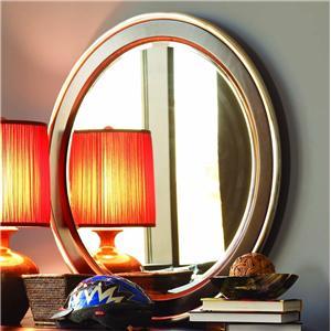 Opus Designs Aura Round Mirror