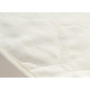 Organic Mattresses, Inc. (OMI) Cotton Flannel Mattress Pad Twin Organic Cotton Flannel Mattress Pad
