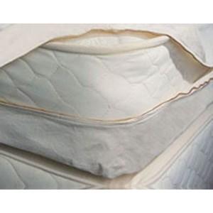 """Organic Mattresses, Inc. (OMI) Mattress Barrier Cover Twin XL 10"""" Cotton Mattress Barrier Cover"""