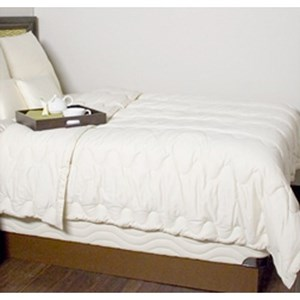Organic Mattresses, Inc. (OMI) Organic Wool Comforter Full Certified Organic Wool Comforter
