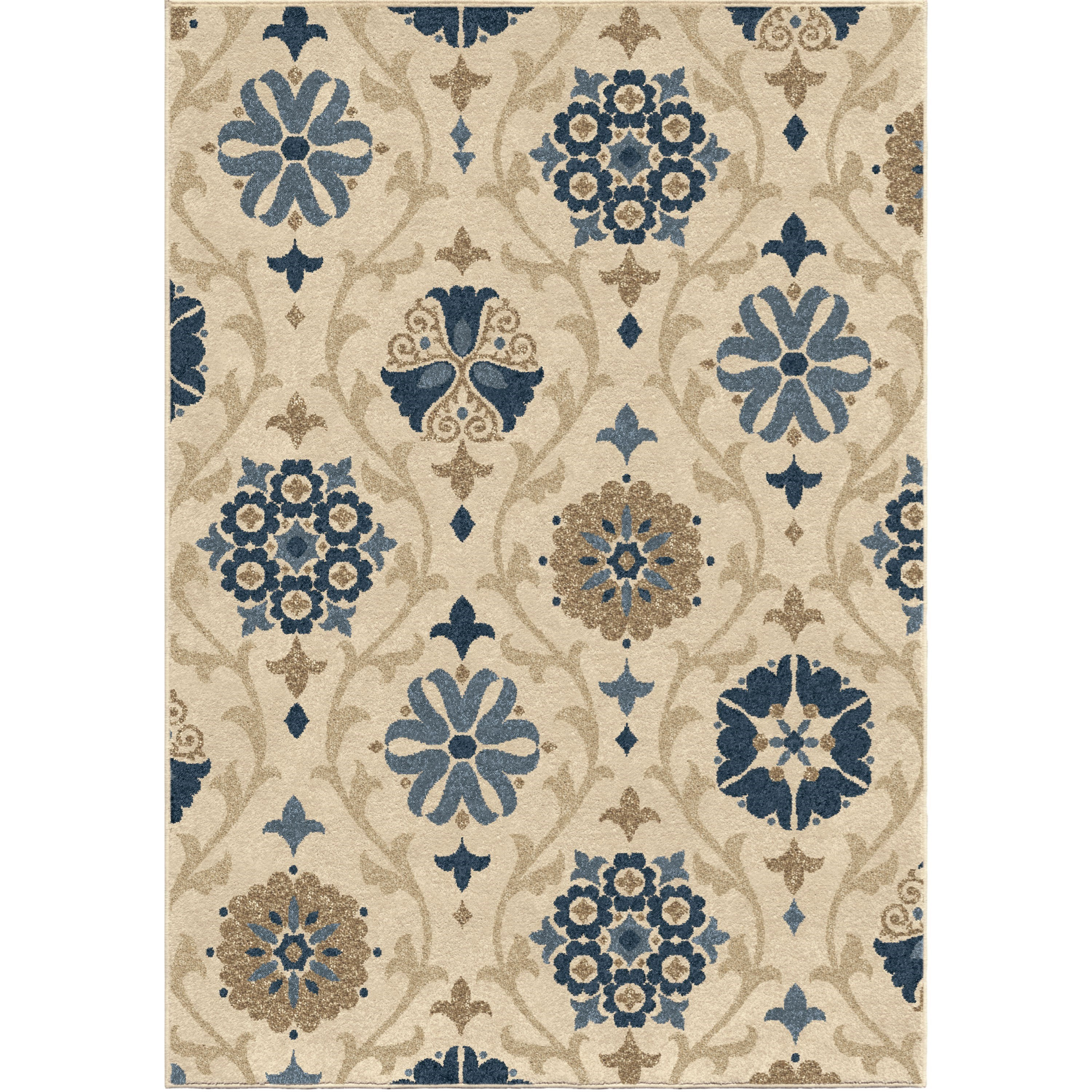 """Four Seasons Chico Seashell 7'8"""" x 10'10"""" Rug by Orian Rugs at Mueller Furniture"""
