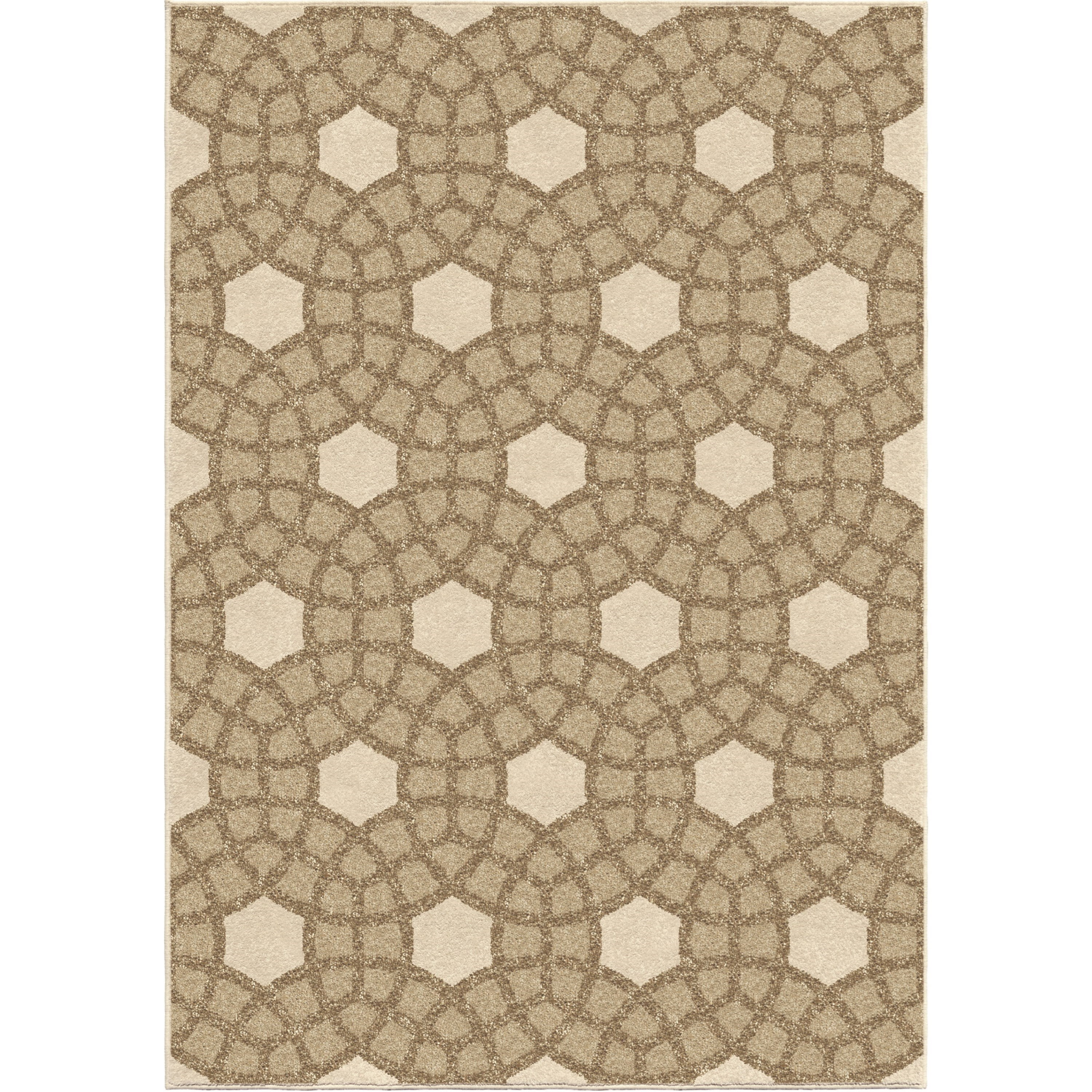 """Four Seasons Castleberry Lambswool 5'2"""" x 7'6"""" Rug by Orian Rugs at Mueller Furniture"""