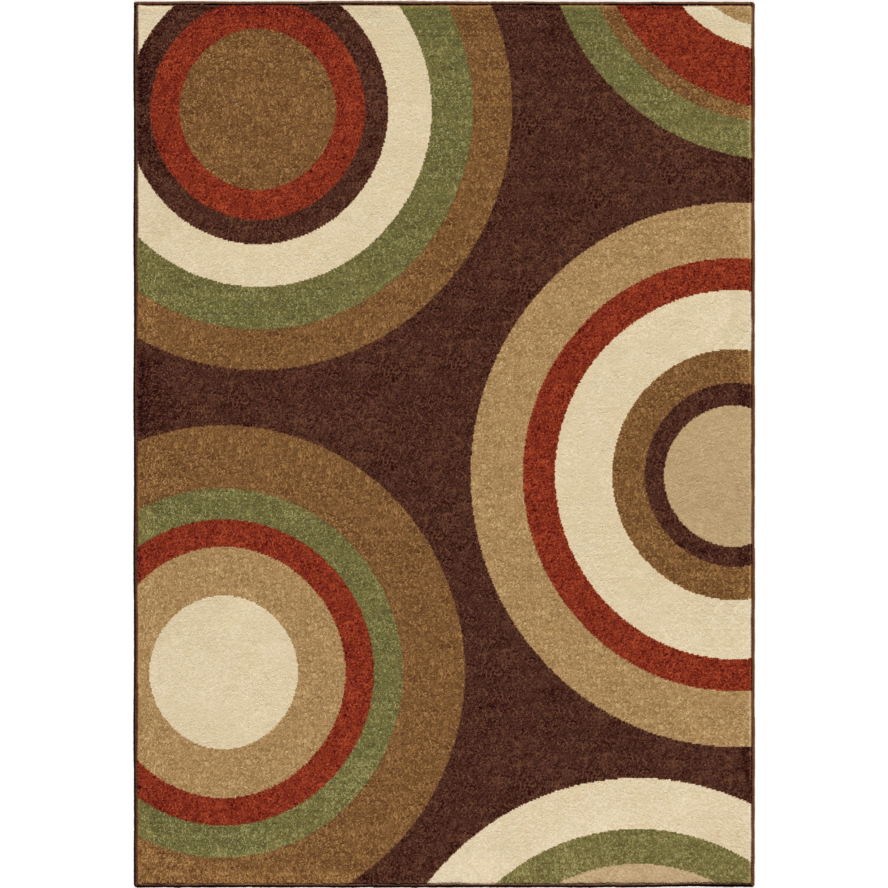 """Four Seasons Roundtree Café Au Lait 7'8"""" x 10'10"""" Rug by Orian Rugs at Mueller Furniture"""