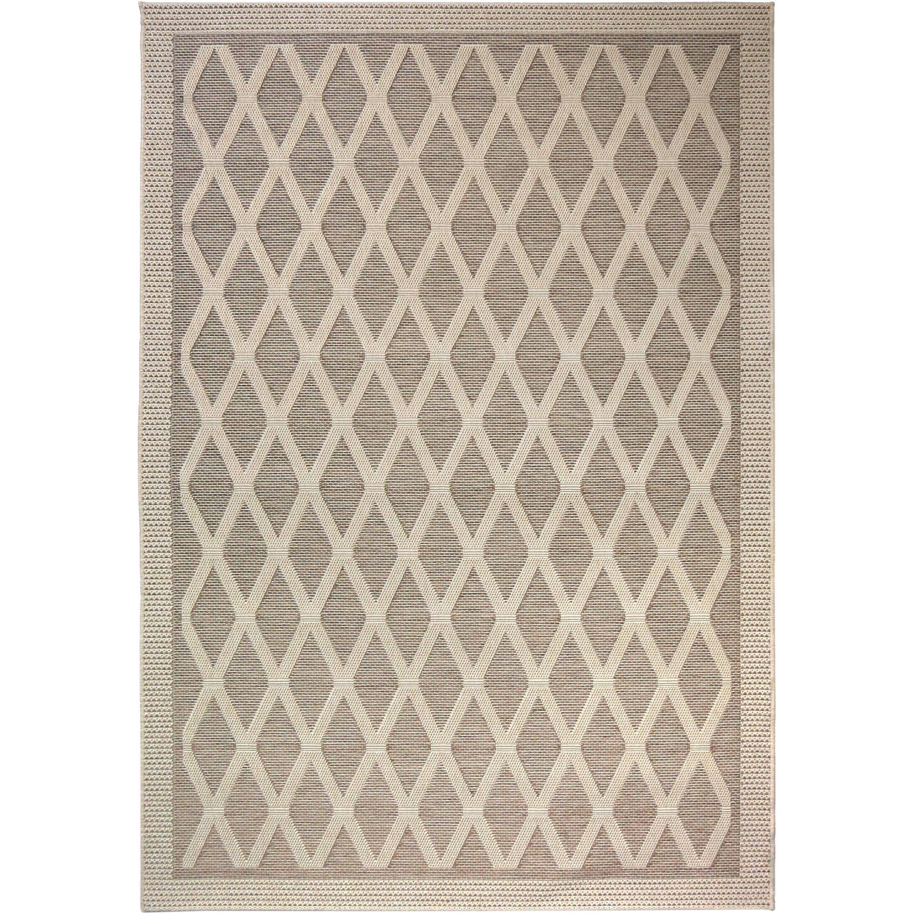 """Jersey Home Regal Dimension Tan 5'1"""" x 7'6"""" Rug by Orian Rugs at Mueller Furniture"""