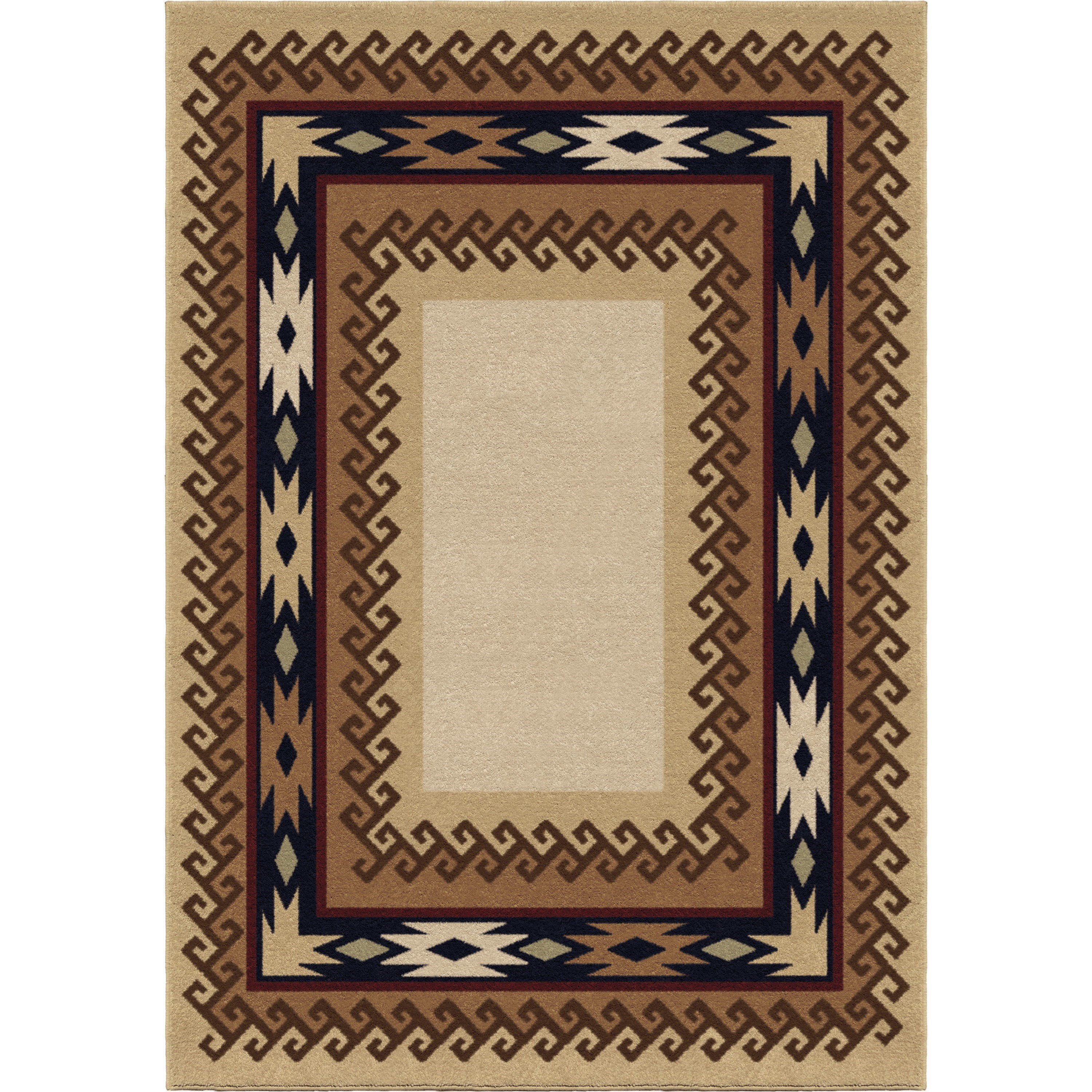 """Oxford Durango Parchment 5'3"""" x 7'6"""" Rug by Orian Rugs at Mueller Furniture"""