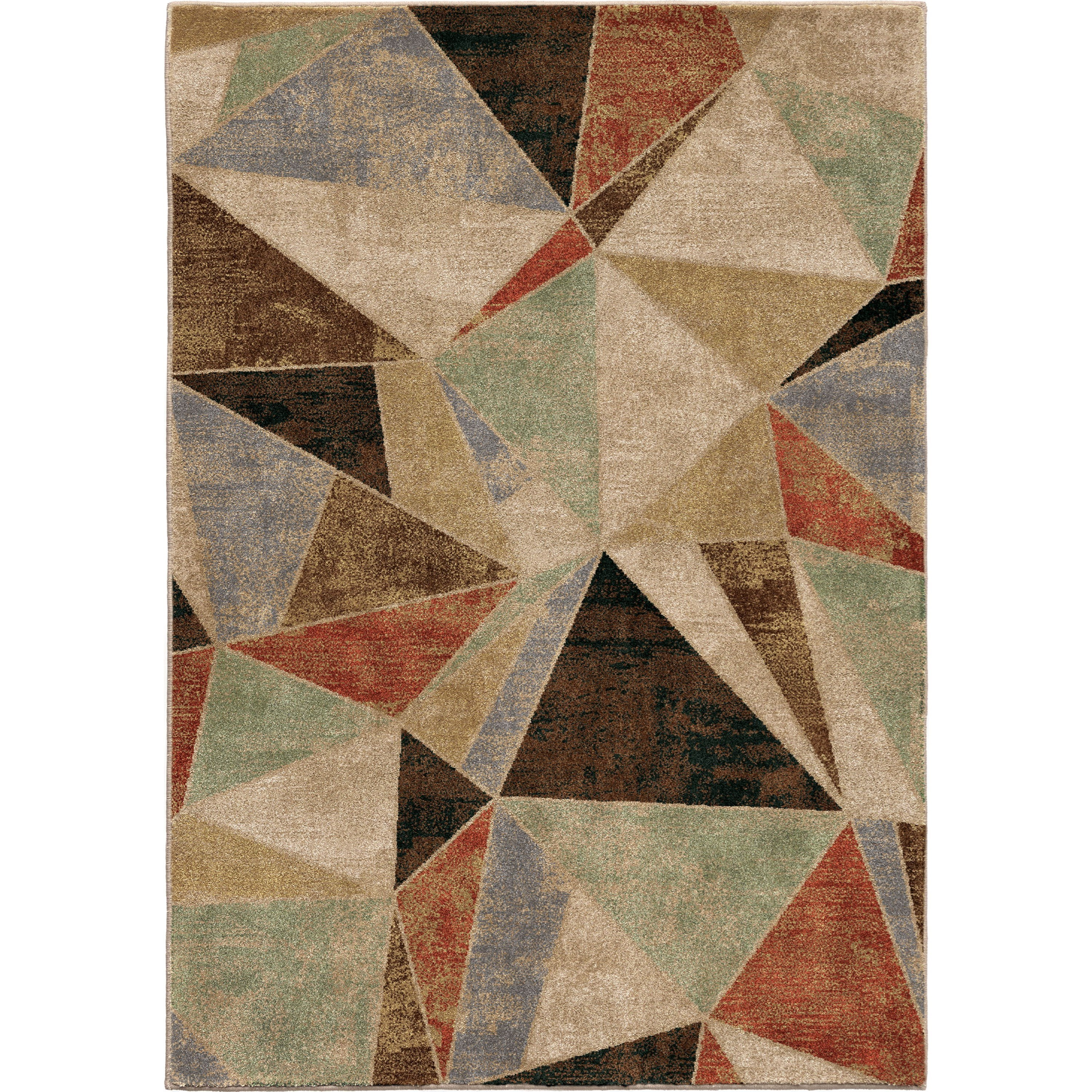 """Radiance Glass Shard Multi 7'10"""" x 10'10"""" Rug by Orian Rugs at Mueller Furniture"""