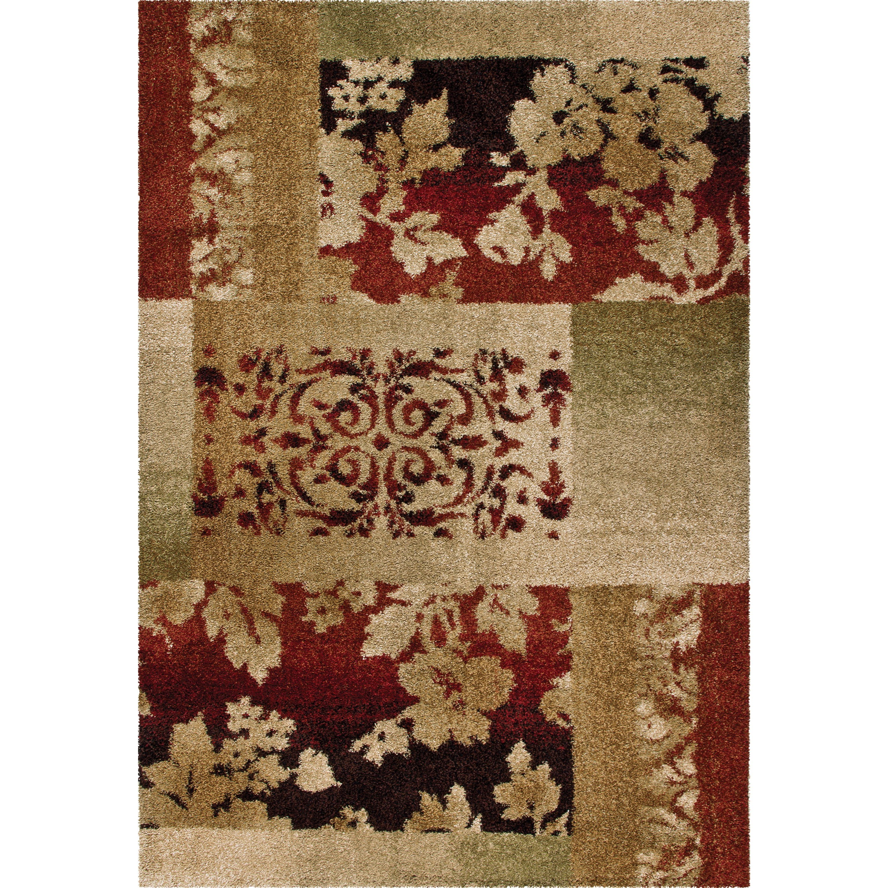 """Wild Weave Ogletree Rouge 5'3"""" x 7'6"""" Rug by Orian Rugs at Mueller Furniture"""