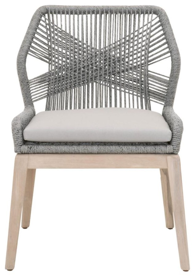Wicker Loom Dining Side Chair by Essentials for Living at C. S. Wo & Sons Hawaii