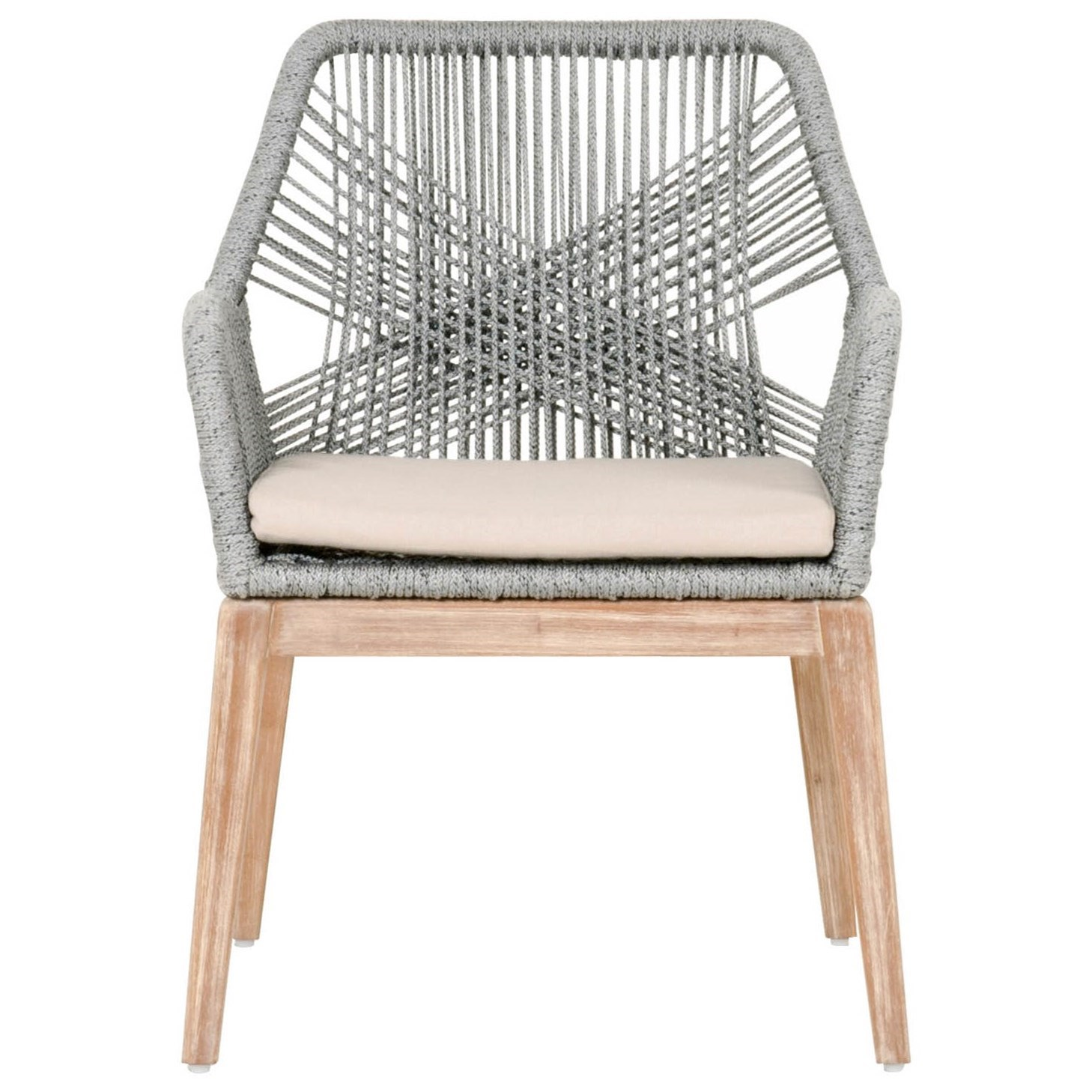 Woven Loom Arm Chair by Essentials for Living at Baer's Furniture