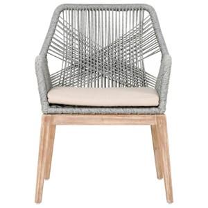 Loom Rope Weave Arm Chair