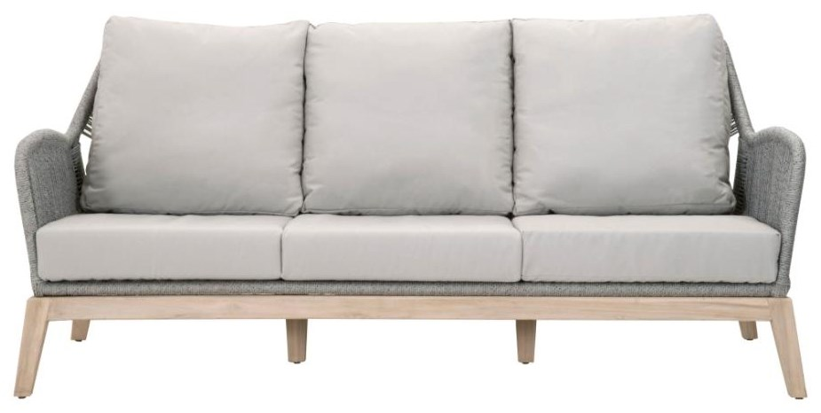 Wicker Loom Sofa by Essentials for Living at C. S. Wo & Sons Hawaii