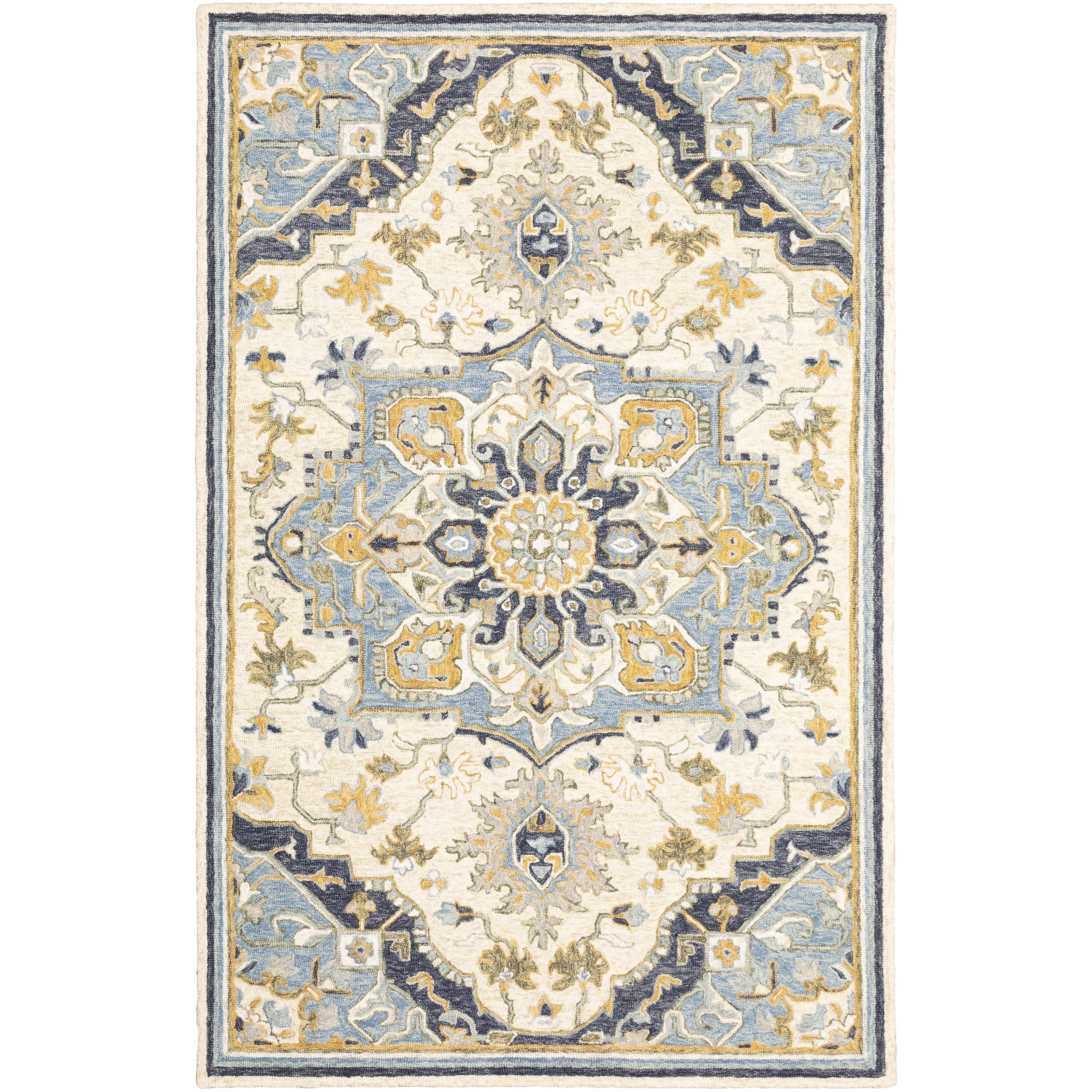 "Alfresco 3' 6"" X  5' 6"" Rectangle Rug by Oriental Weavers at Novello Home Furnishings"