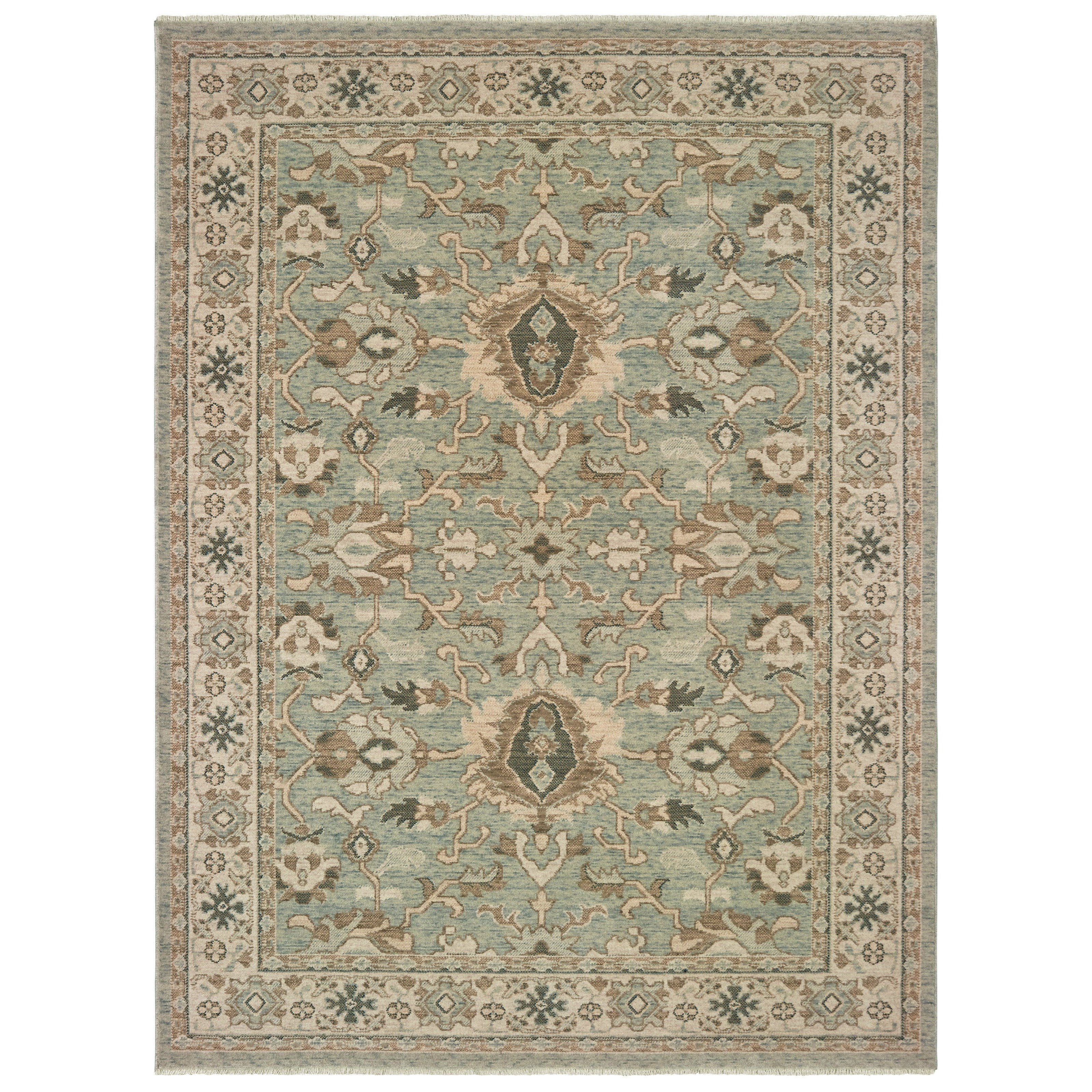 "Anatolia 5' 3"" X  7' 6"" Rectangle Rug by Oriental Weavers at Steger's Furniture"