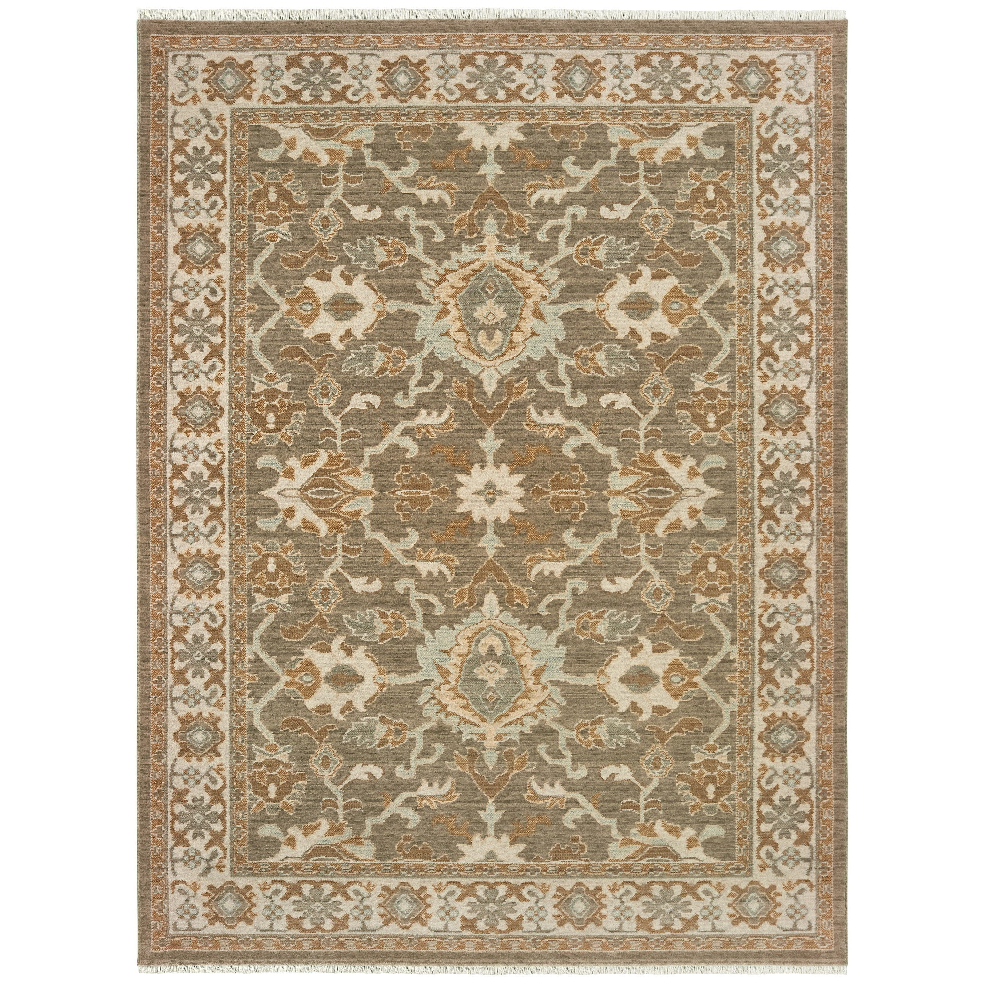 """Anatolia 7'10"""" X 10'10"""" Rectangle Rug by Oriental Weavers at Steger's Furniture"""