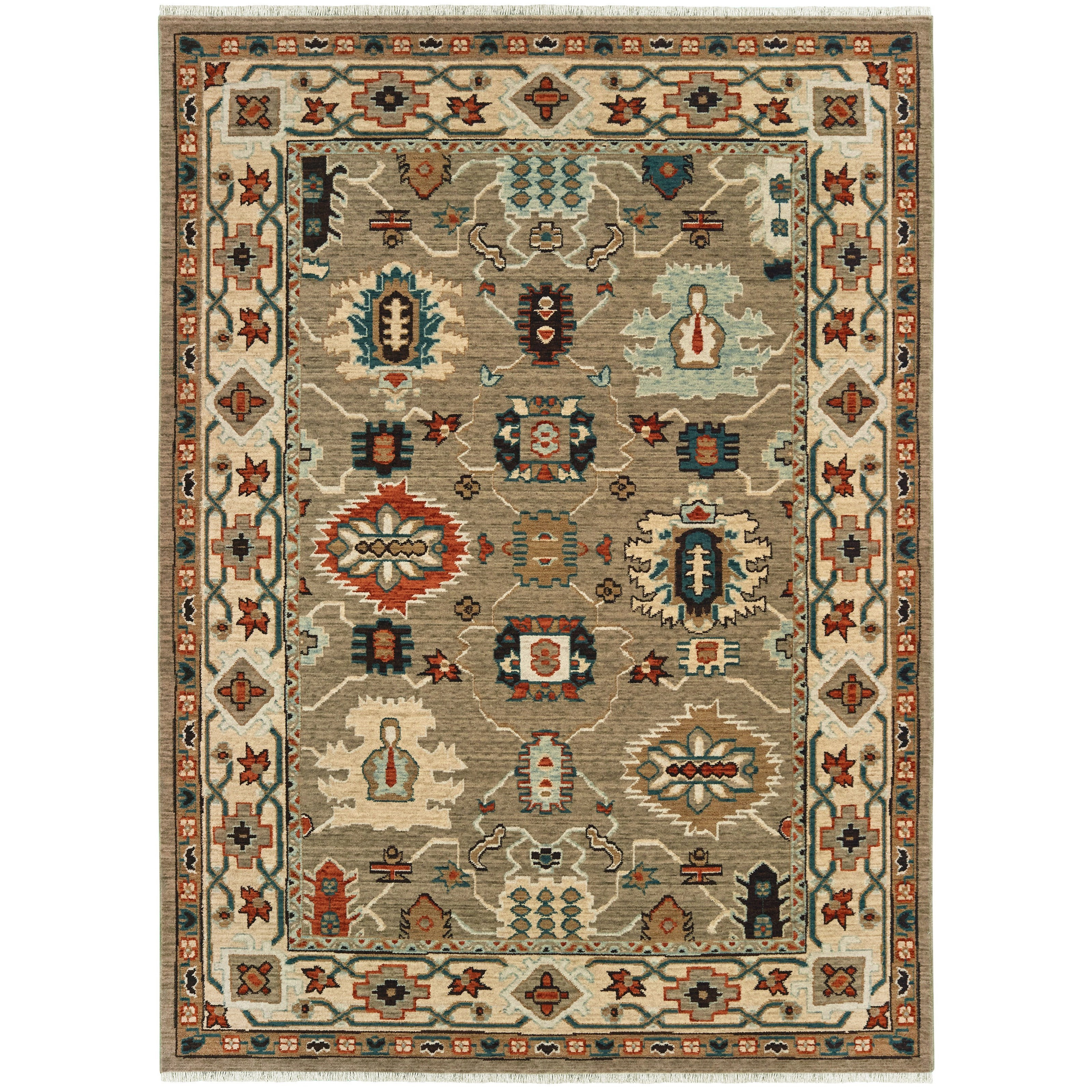 """Anatolia 5' 3"""" X  7' 6"""" Rectangle Rug by Oriental Weavers at Steger's Furniture"""