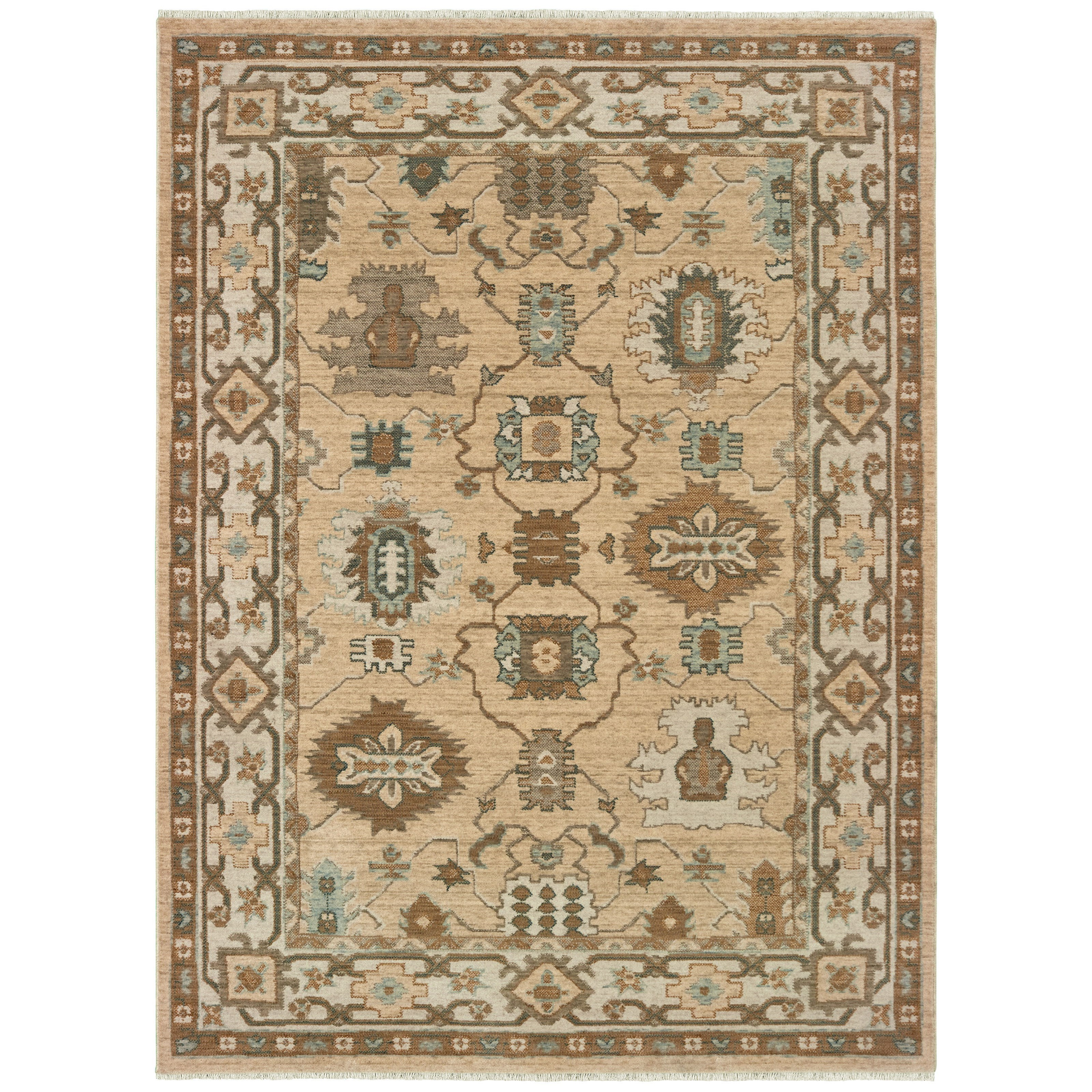 """Anatolia 6' 7"""" X  9' 6"""" Rectangle Rug by Oriental Weavers at Steger's Furniture"""