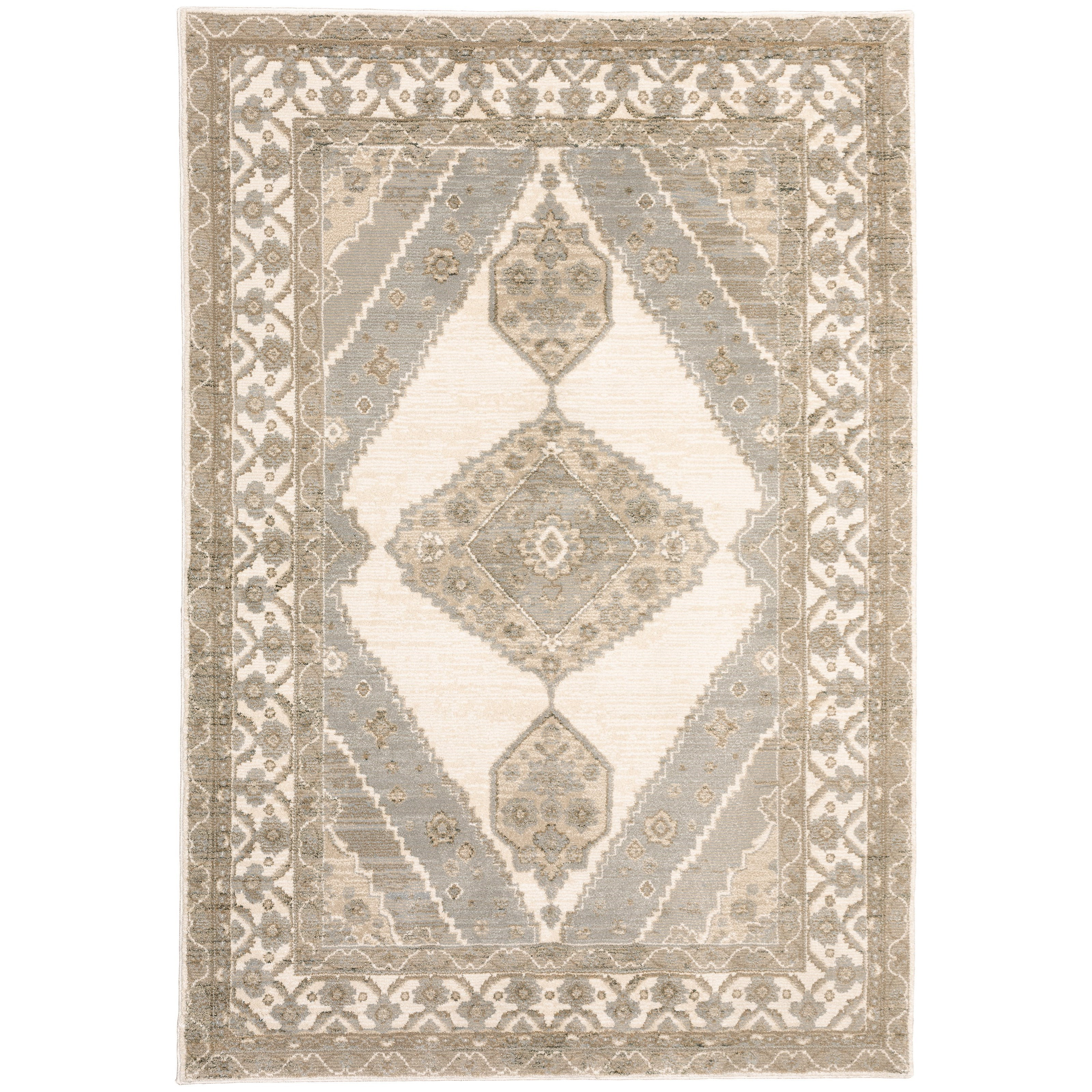 "Andorra 7'10"" X 10'10"" Rectangle Rug by Oriental Weavers at Steger's Furniture"