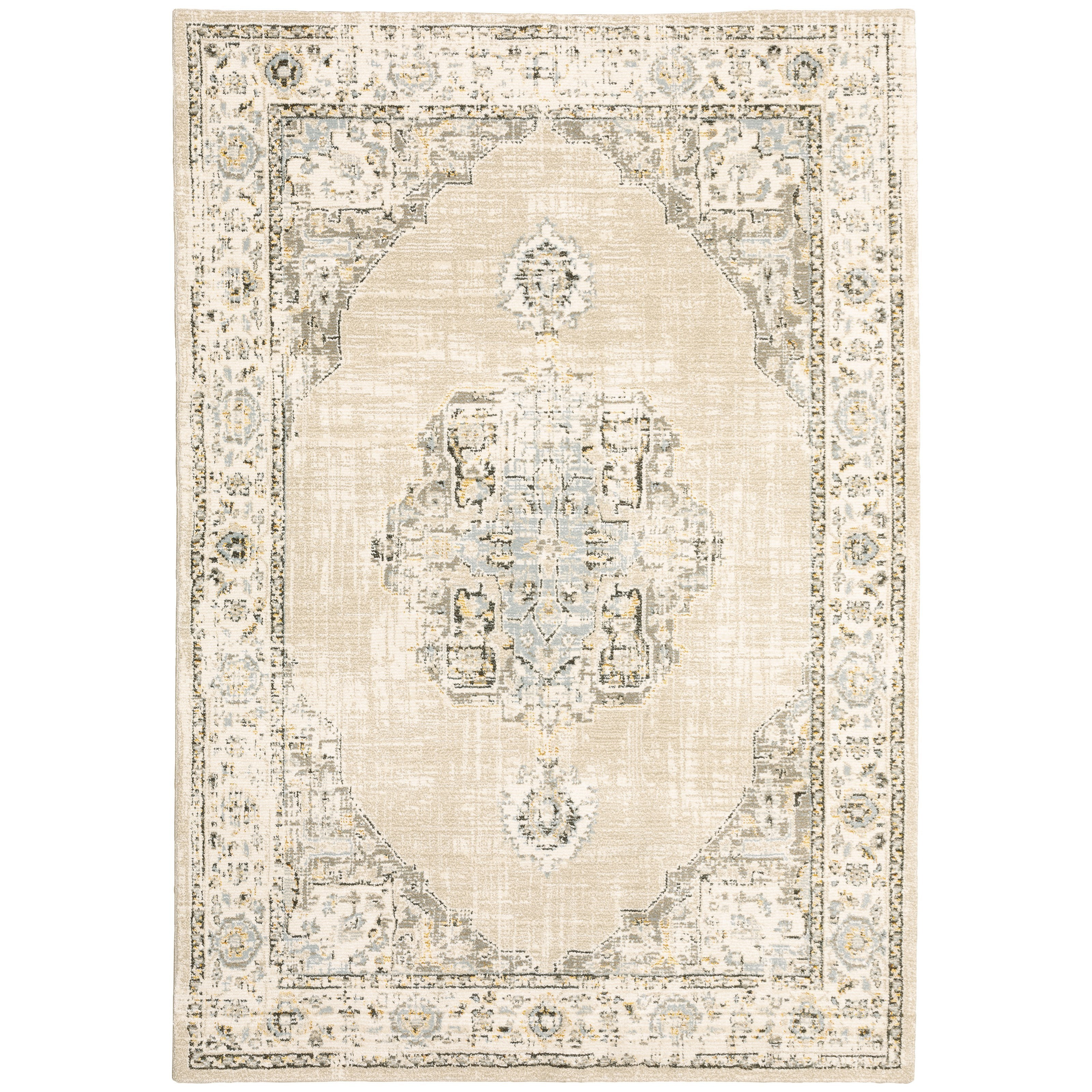 """Andorra 7'10"""" X 10'10"""" Rectangle Rug by Oriental Weavers at Miller Waldrop Furniture and Decor"""