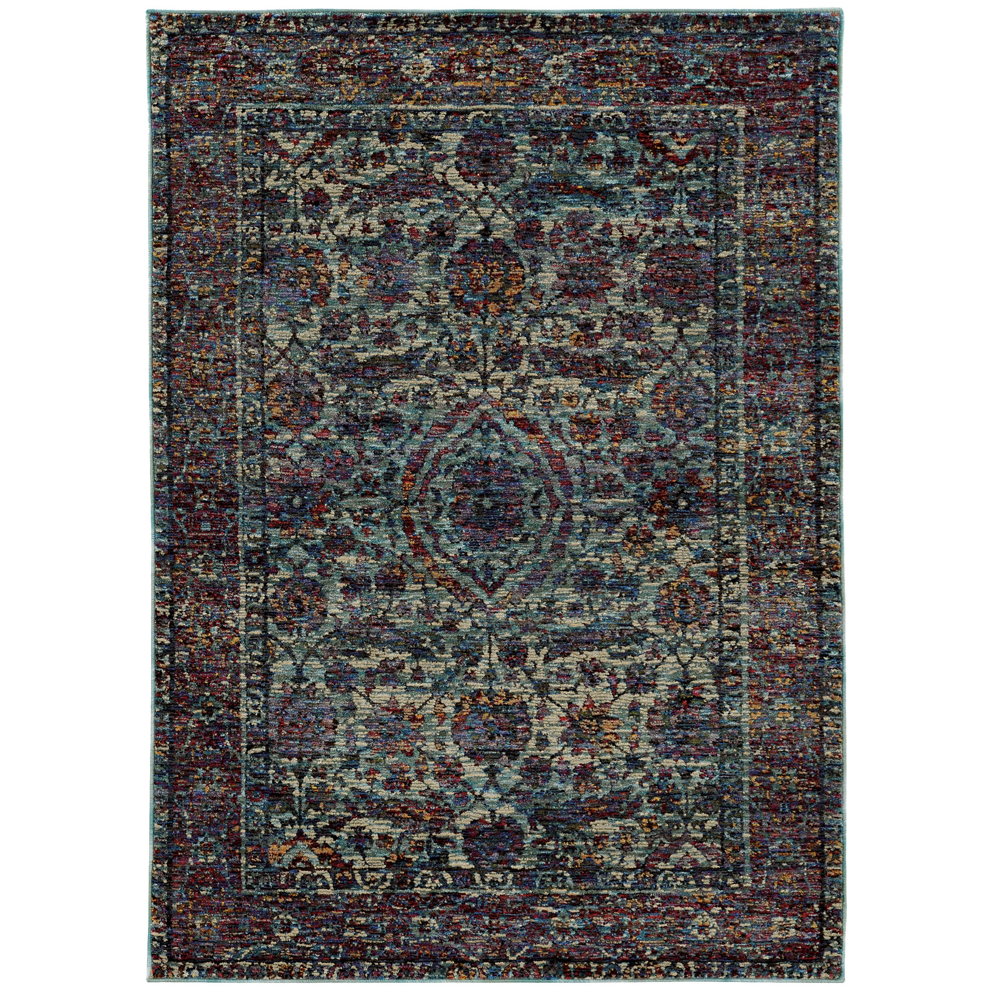 "Andorra 10' 0"" X 13' 2"" Rectangle Rug by Oriental Weavers at Novello Home Furnishings"