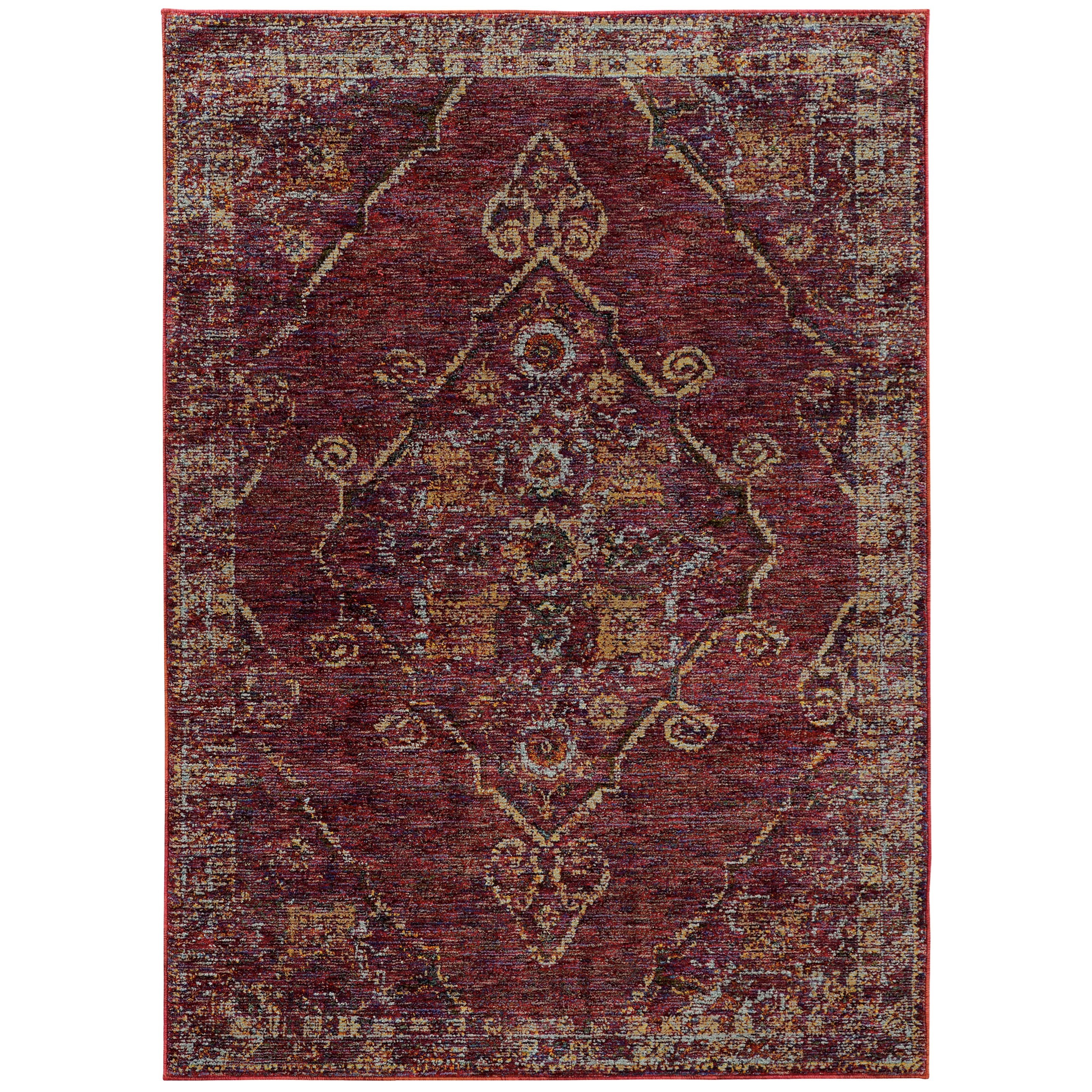 "Andorra 10' 0"" X 13' 2"" Rectangle Rug by Oriental Weavers at Jacksonville Furniture Mart"