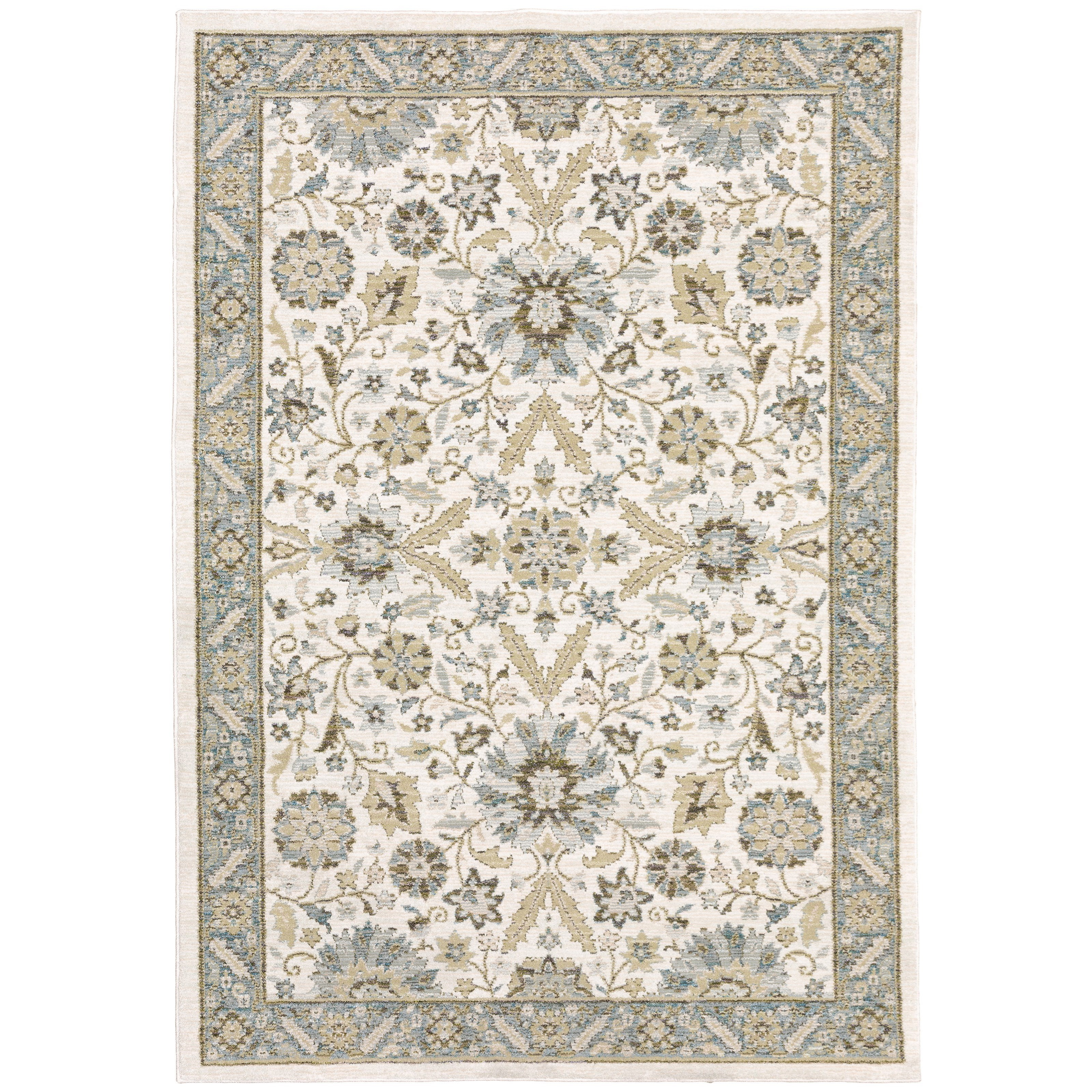 "Andorra 10' 0"" X 13' 2"" Rectangle Rug by Oriental Weavers at Steger's Furniture"