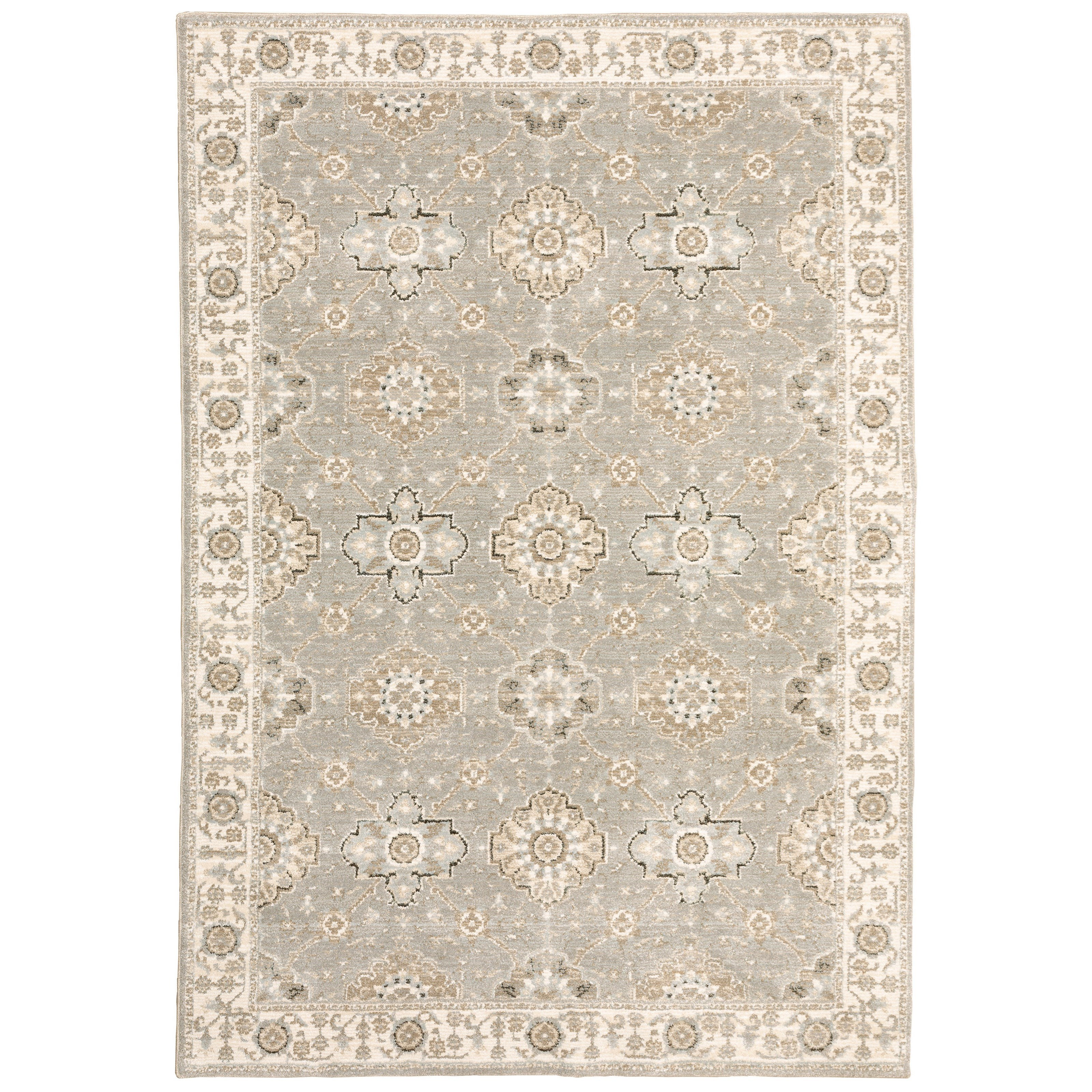 """Andorra 3' 3"""" X  5' 2"""" Rectangle Rug by Oriental Weavers at Novello Home Furnishings"""