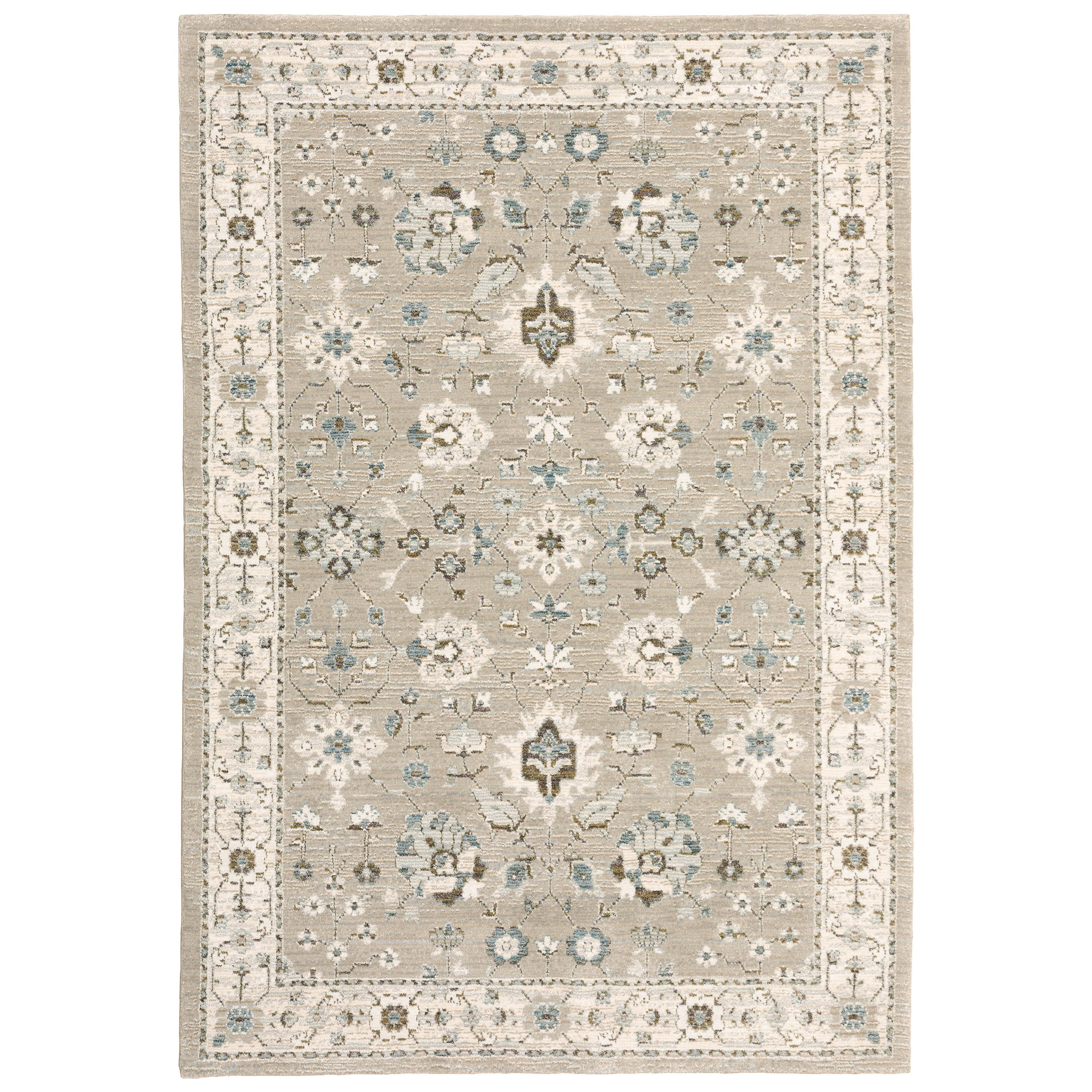 "Andorra 3' 3"" X  5' 2"" Rectangle Rug by Oriental Weavers at Steger's Furniture"