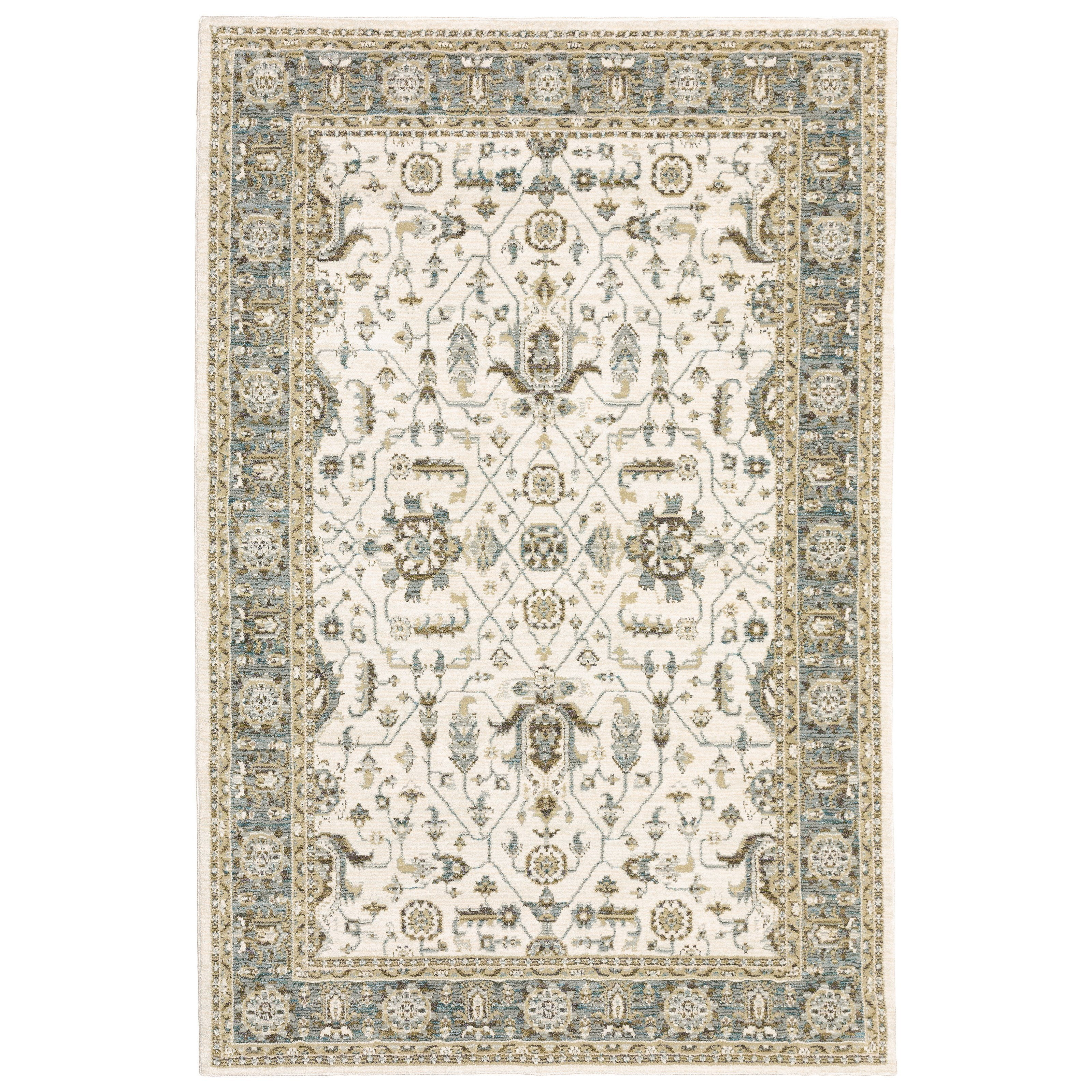 """Andorra 3' 3"""" X  5' 2"""" Rectangle Rug by Oriental Weavers at Steger's Furniture"""